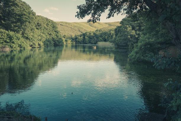 地形,自然美,水