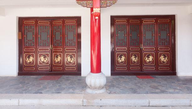 寺庙门传统