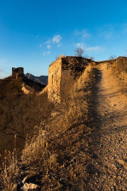 长城垂直画幅山