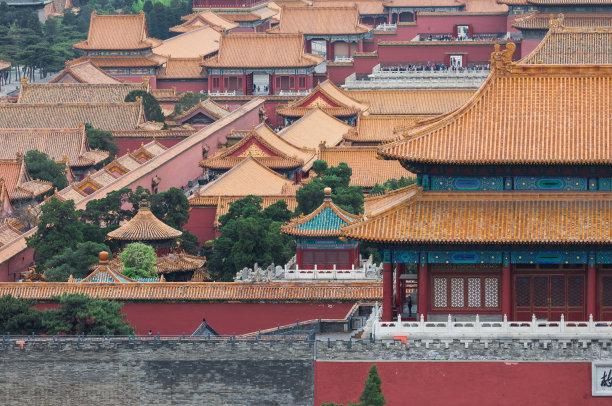 故宫北京特写