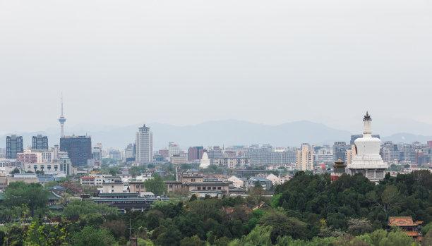 北京高视角中央电视塔