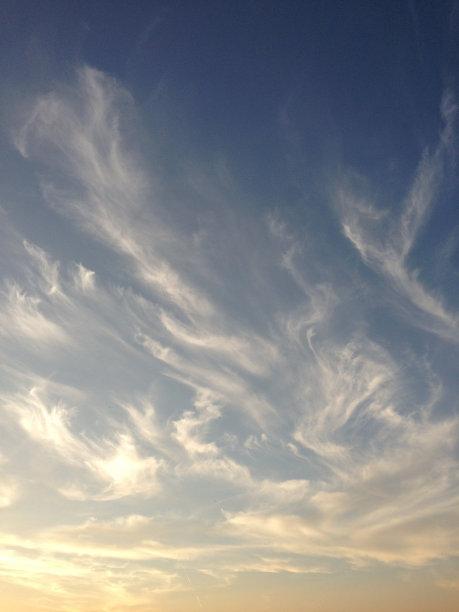 天空,云,自然