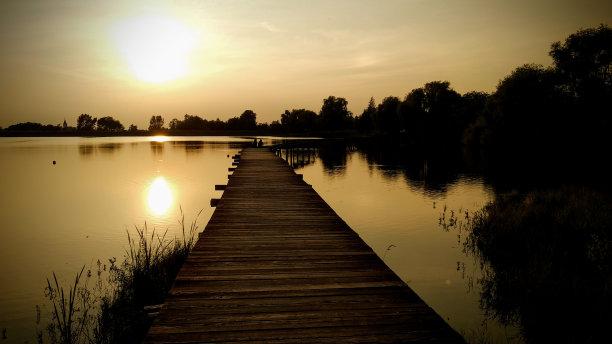 湖,水,天空
