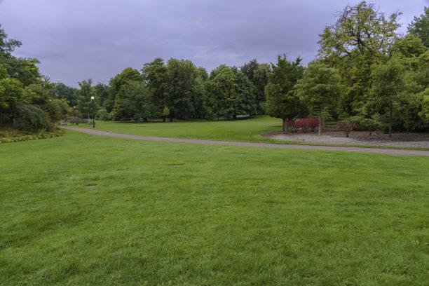 哥德堡,格林公园,草坪