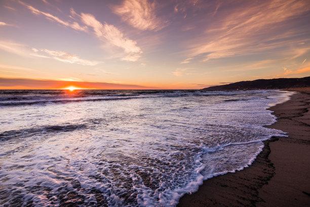 加利福尼亚,海岸线,风景