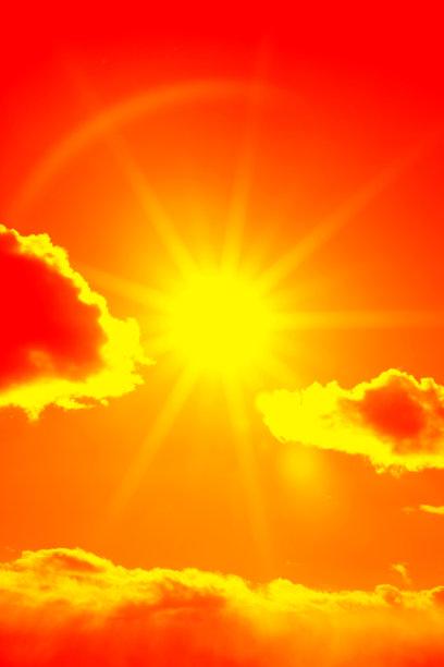 云,日光,阳光光束