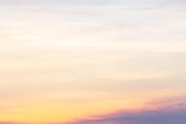 云,时间,透过其它物体观看