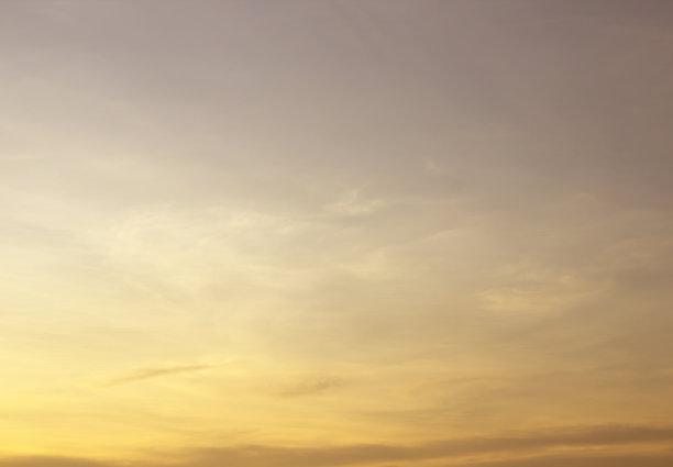 天空,黄金,蓝色