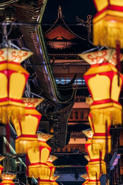 上海豫园春节