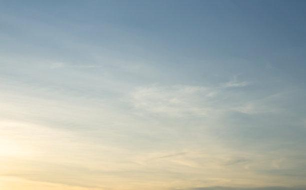 云景,天空,日光