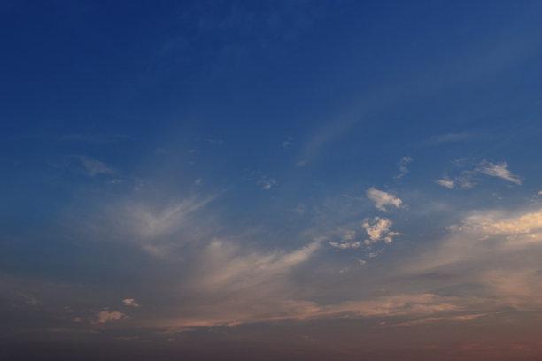 云,橙色,毛绒绒