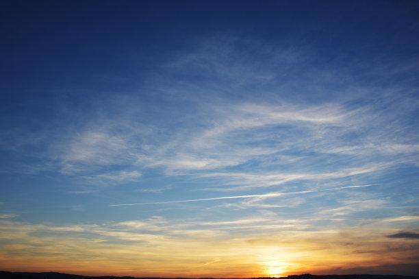 云景,背景,天空