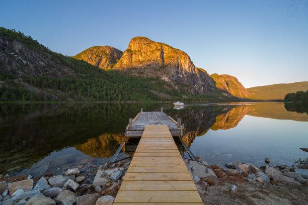 挪威,山,斯堪的纳维亚半岛