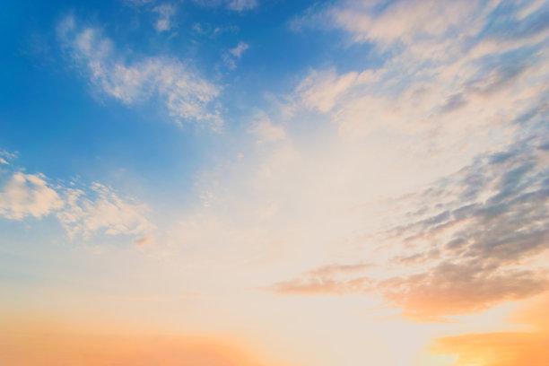 云景,天空,蓝色
