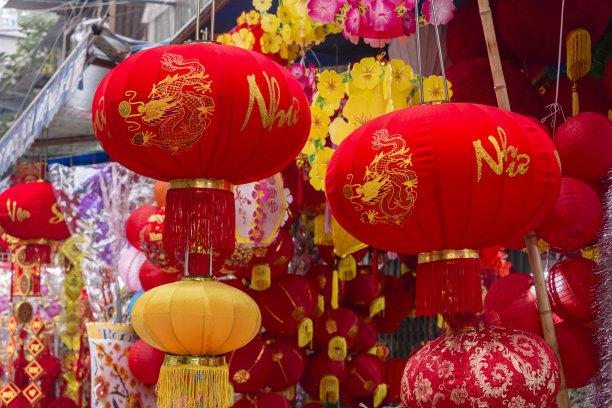 越南春节商品