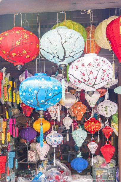 越南灯笼春节