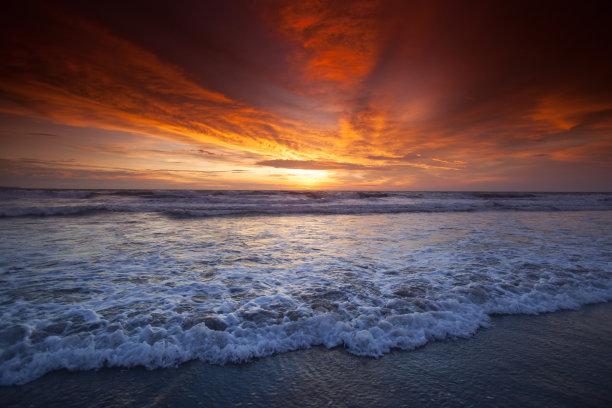 海洋,自然美,在上面