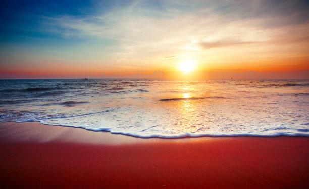 海洋,鸡尾酒,自然美