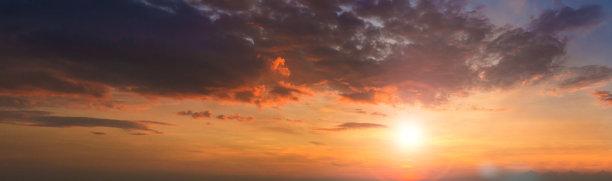 曙暮光,云,背景