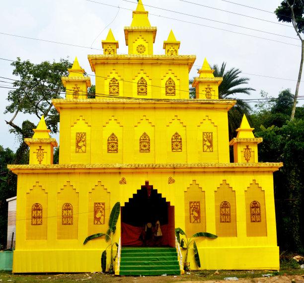 杜尔迦乡村图片