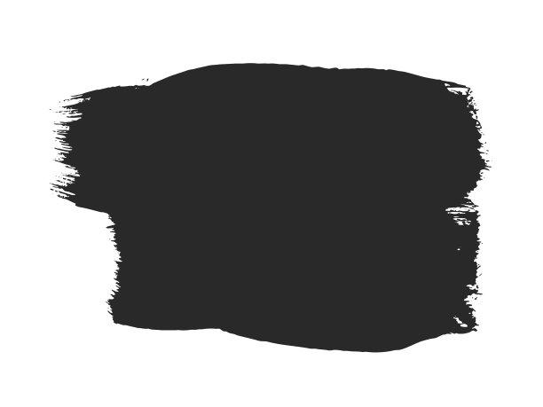 白色画笔黑色