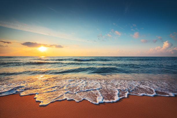 海洋,自然美,鸡尾酒