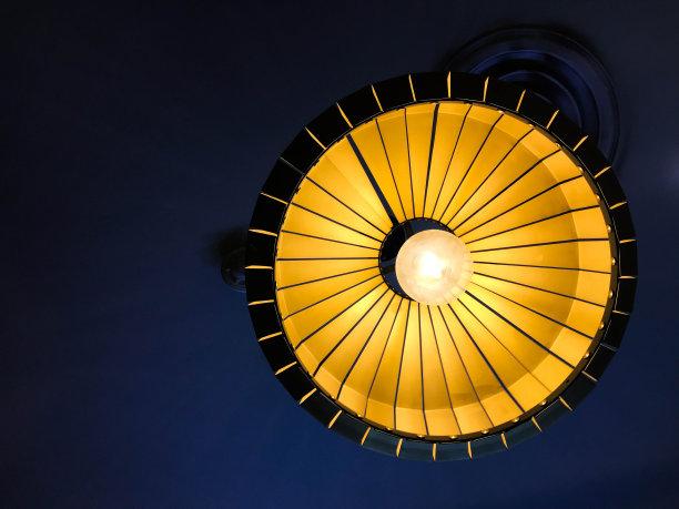 灯,自然美,空的