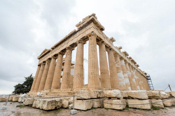 希腊雅典卫城雅典