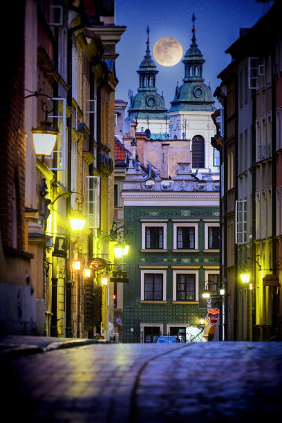 波兰华沙古城