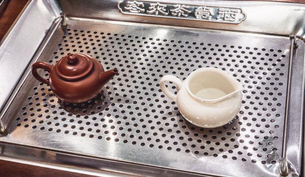 茶壶白色图片