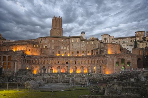 罗马国际著名景点卡比多广场