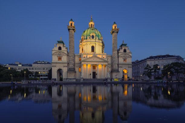 奥地利教堂圣巴泰勒米岛