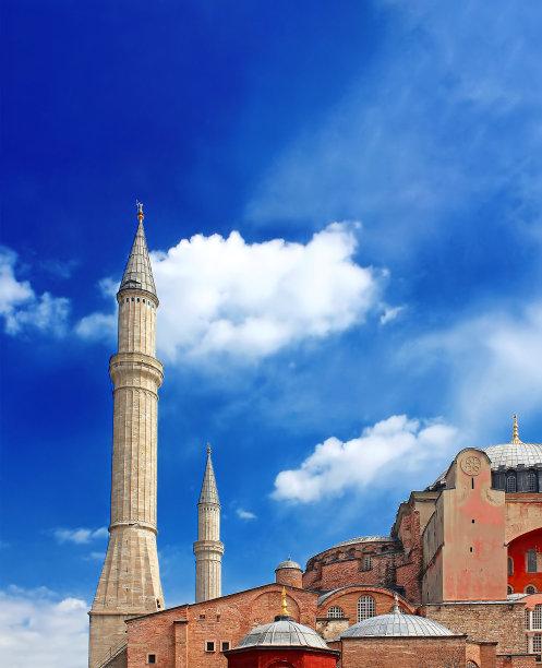 土耳其伊斯坦布尔圣索菲亚大教堂