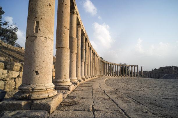 罗马古罗马广场约旦