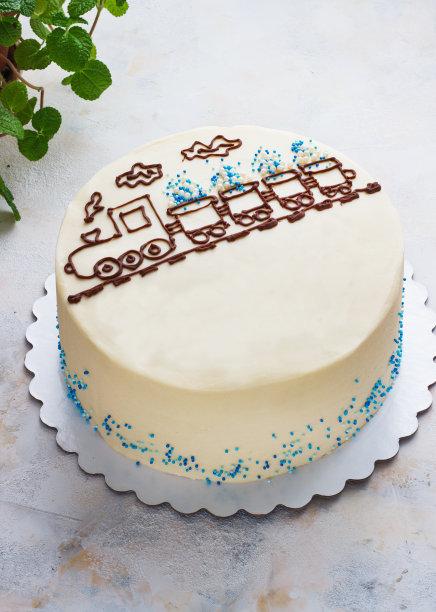 蛋糕图像桌子