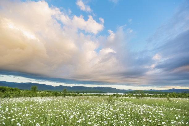 农业云景图片