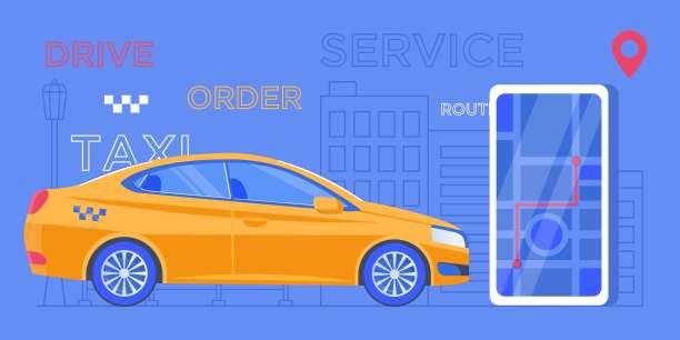有序,汽车,出租车