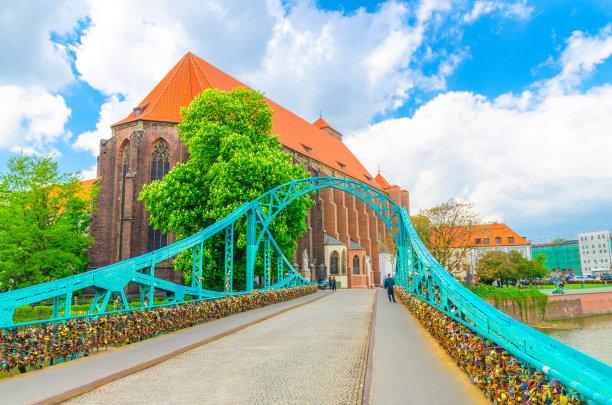 波兰河流图片