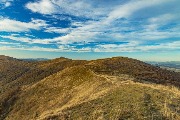 山脊背景户外