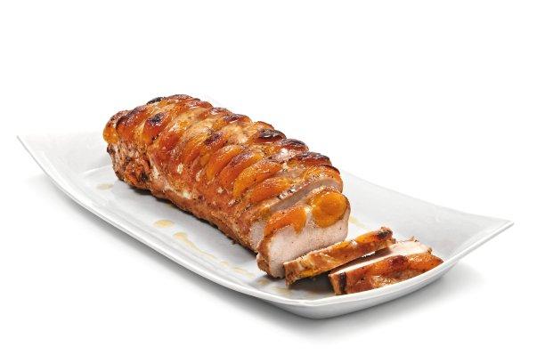腰肉烤的一个物体