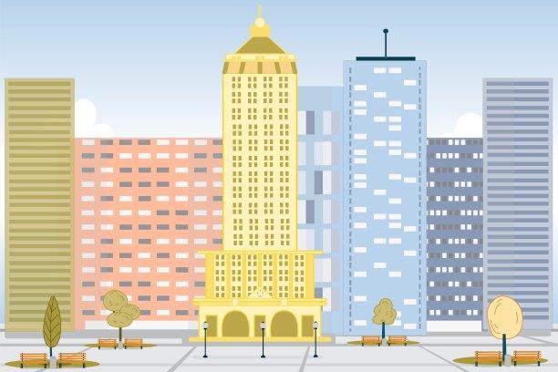 城市市区风景