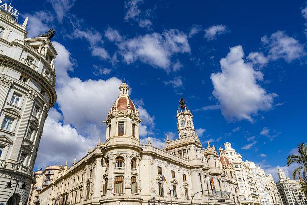 市政厅广场市政厅巴伦西亚省