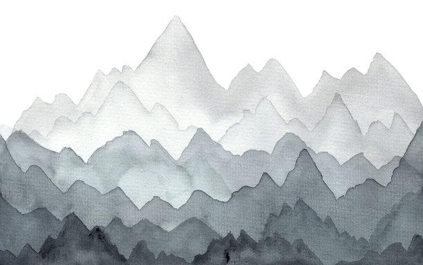 灰色雾地形