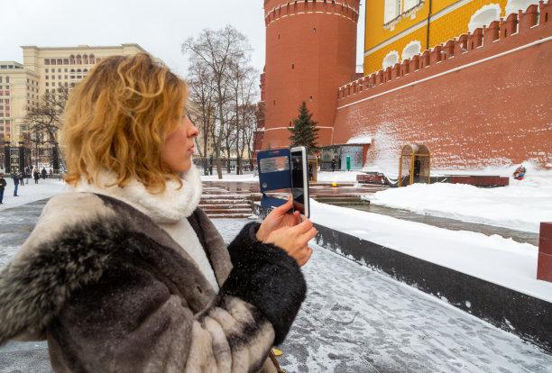 莫斯科青年女人图片