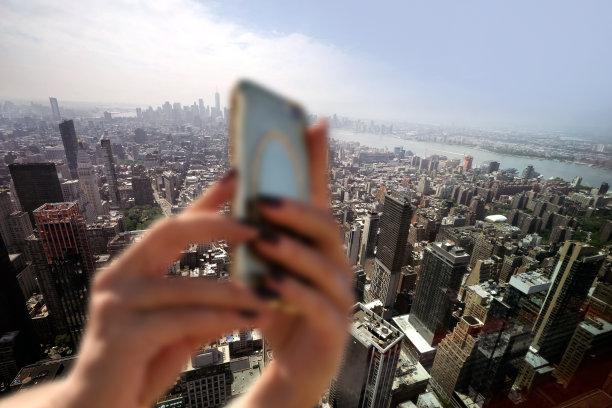 曼哈顿都市风景图片