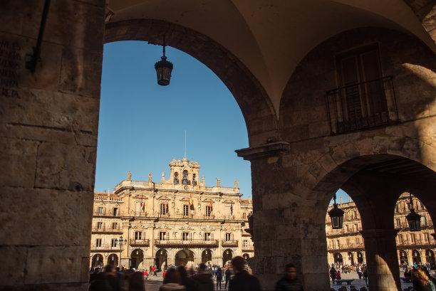 萨拉曼卡马约尔广场西班牙