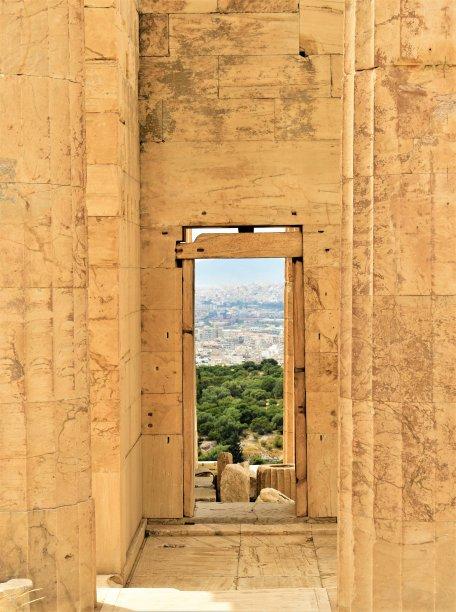 过去雅典卫城大理石
