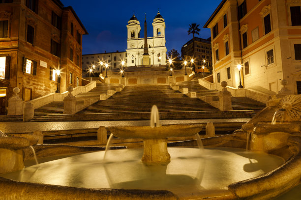 罗马piazza di spagna西班牙阶梯