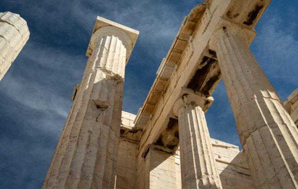雅典卫城柱子世界遗产