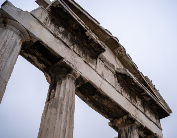 过去雅典国际著名景点